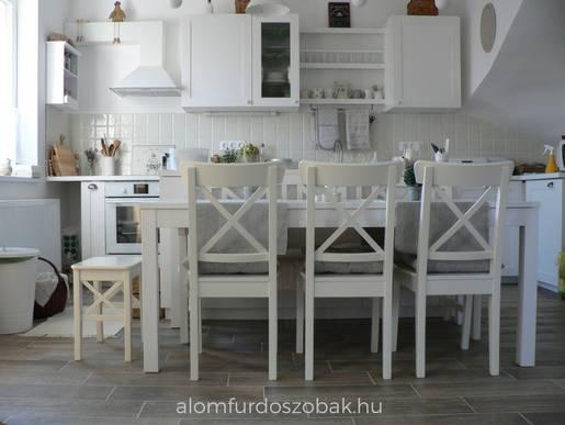 Cerrad Tilia Mist padlólap az étkezőben